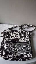 Vera Bradley NIght and Day Messenger Crossbody Handbag Purse