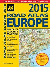 AA Road Atlas Europe 2015 *IN STOCK IN MELBOURNE - NEW*