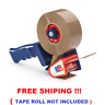 1Heavy Duty Metal 50MM Hand Dispenser Gun Parcel Packing Tape For 150m Long Roll