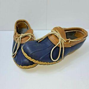 Men's LL Bean Gumshoe Duck Low Bean Boots Snow Shoe Boots Men's Size 9 M