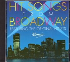 Hit Songs From Broadway CD (Alfred Drake/Fred Astaire/Jan Clayton/Joan Roberts)
