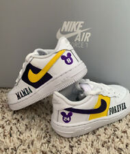 Mamba Forever Air Force One Kids Shoes