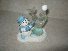 Dreamsicles Northern Lights Ice Sculpture 60503 1998 Figurine Snowman Seal