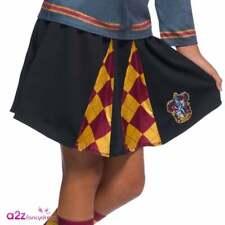 Girl Hermione Granger Gryffindor Uniform Skirt Harry Potter Book Day Fancy Dress
