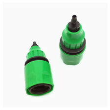 "Coupling Adapter For Irrigation Hose Connector With 1/4"" Barbed Connector 2 Pcs"