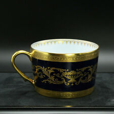 Faberge Verneuil Coffee Tea Cup Limoges Porcelain China 24K Gold Rim