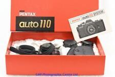 Pentax Auto 110 camera kit c/w 3 lens, flash  NR. MINT CONDITION