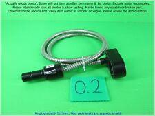 Ring Light Dia' 15 - ID 25mm., Fiber cable lenght 1 m. as photo, sn:set B, Pro'
