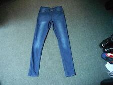 "Denim Co Skinny Jeans Taglia 8 Gamba 32"" Sbiadito Jeans Blu Scuro Donna"