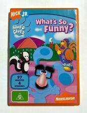 Blue's Clues: What's So Funny? - Nick Jr. Nickelodeon Kids TV Series RARE R4 DVD