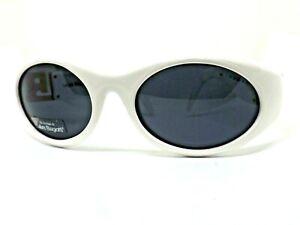 LAURA BIAGIOTTI LB 722/S Sunglasses Woman Retro Vintage Ages 80 White Dark