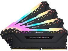 CORSAIR Vengeance RGB Pro 32GB (4 x 8GB) 288-Pin DDR4 DRAM DDR4 3000 (PC4 24000)