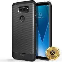 OBLIQ® LG V30 / V30S / V35 ThinQ [Flex Pro] Black TPU Slim Case Cover Protection