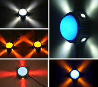 Outdoor 7W/15W LED Wall Sconce Light RGB Lamp Waterproof Building External Stage