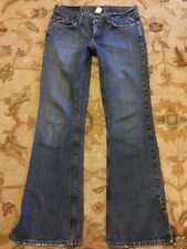 Lucky Brand Maya Jean Flare No 57 Women's Jeans sz 8x32 USA Made Cute Sexy