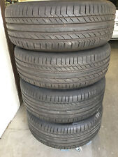 Continental 235/55R19 255/50R19 ContiSportContact 5 Macan DOT16 Sommerreifen 7mm