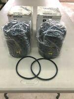 (2) John Deere AR43634 motor oil filters New Old Stock