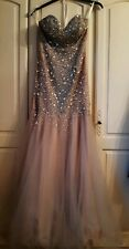Stunning Terani Couture Prom/evening Dress US Size 4/ UK Size 8
