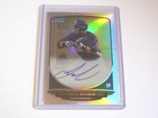 2013 BOWMAN CHROME JULIO MORBAN  AUTOGRAPH REF ROOKIE CARD /500 SEATTLE