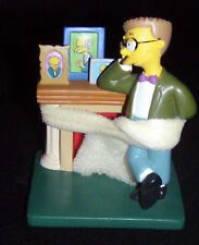 THE SIMPSON'S - MINI STATUE- SMITHERS -YOURE A GENIUS SIR
