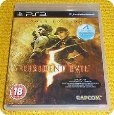 Resident Evil 5 Gold Edition videogioco Capcom PS3 <=