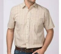 Rydale Men's Short Sleeved 100% Cotton Shirts Size L RRP£24.99 {R165}