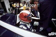 Marc sürer Brabham BT54 GERMAN GRAND PRIX 1985 Photo