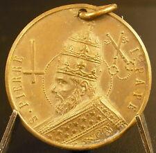 Médaille 1928 Pierre de Montrouge Saint Pierre Ier Pape sc Abbé Corbierre medal