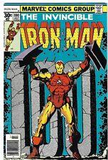 Iron Man #100 - Starlin Art/Mandarin Battle - Fine Condition - FREE SHIPPING