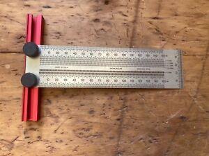 Incra metric 150MM square / rule.