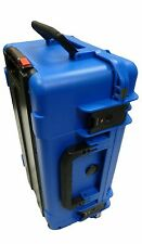 SKB 3i-2011-7 Case Blue No foam. Comes With 2 TSA Locking Latches with keys.