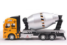 1:48 Cement Mixer Truck Diecast Pullback Car Construction Toy Vehicle Gift