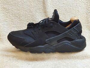Nike Air Huarache mens trainers Triple Black UK 9 EUR 44 US 10