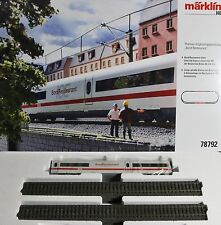 "New Marklin 78792 ICE2 ""BordRestaurant"" Expansion Set, w Dining Car and Track"