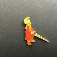 Wart with Sword - young King Arthur Sword in the Stone - Disney Pin 5163