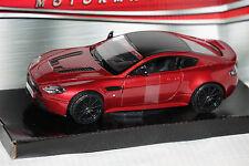 Aston Martin V12 Vantage S rot 1:24 Motormax neu & OVP MM79322ro