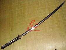 Battle ready clay tempered sanmai jp musashi katana wave hamon full tang sharp