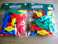 2 PACKS OF CYCLONE STORM CLOTHES PEGS
