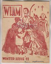 NOV 1941 PUBLICATION - WHAM - MILFORD HIGH SCHOOL MAGAZINE CONNECTICUT VOL1 No1