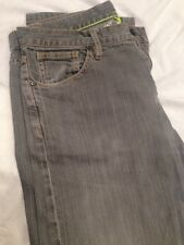 DKNY Jeans, Grey color. Stone washed. Size 34L. FREE SHIPPING in USA