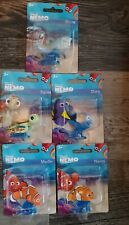 Finding Nemo Dory Disney Pixar Complete Set Figures Toys Mattel Squirt Bruce New