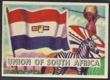 A&BC-FLAGS OF THE WORLD 1960 (SMALL SIZE L80)-#09- UNION OF SOUTH AFRICA