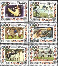 Dubai 410-415 (kompl.Ausg.) gestempelt 1972 Sommerolympiade ´72, München
