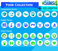 💎 SALE! The Sims 4 ALL Expansions + ALL game/stuff packs + Nifty Knitting 💎