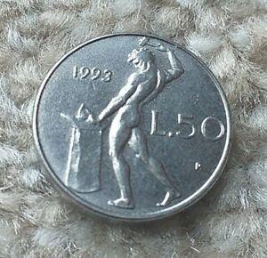 50 Lire 1993 Italy Coin   COINCORNER