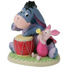Takasho Disney Garden Statue Music Corps Piglet and Eeyore japan Japan new .
