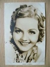 Film Actresses Postcard- NANCY CARROLL, ''Film Weekly No.2, London''