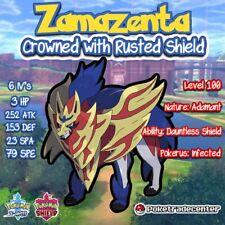 Pokemon Sword And Shield Zamazenta Crowned/Rusted Shield/Crowned/6iv/Pokerus