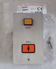 Wandsworth QD325 Call / Reset Button Panel - Nurse Call for QD Alarm Range - New