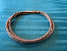 Armband rosagold Hellbraun 19cm AS GEBRAUCHT